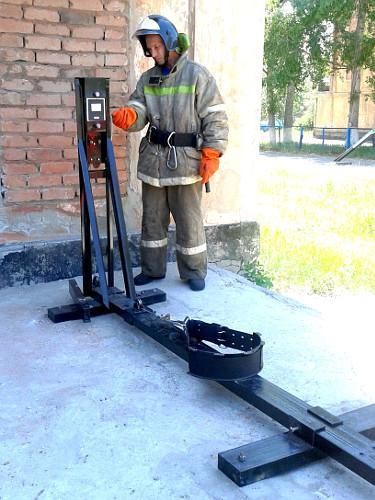 Испытание пожарных поясов