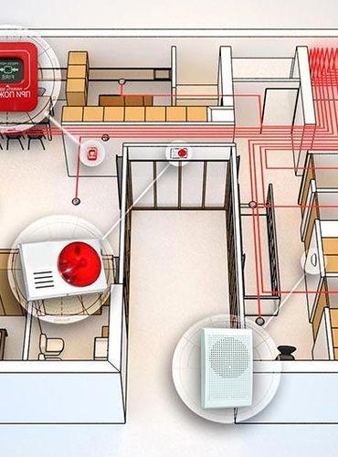 Охранно-пожарная сигнализация: монтаж, обслуживание, работа.