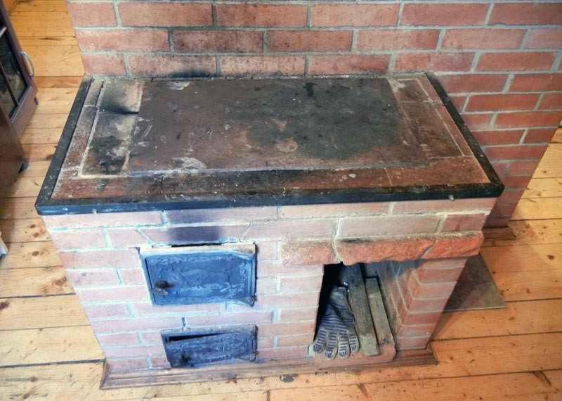 Варочная печь плита из кирпича своими руками